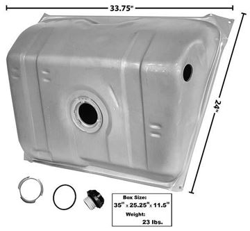 Picture of GAS TANK 82-89 14 GAL.W/PAN IN TANK : T13D CAMARO 82-89