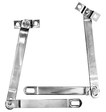 Picture of TAILGATE SUPPORTS STAINLESS PAIR : 3791AS BRONCO 66-77