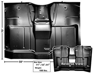 Picture of CAB FLOOR COMPLETE 64-66 : 1106ATC CHEVY PICKUP 64-66