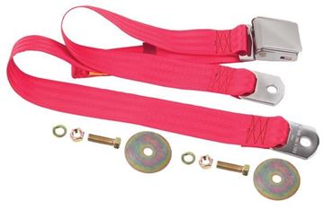 Picture of SEAT BELT BRIGHT RED 60 : SBL-BR60 GTO 64-72