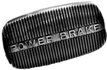 Picture of BRAKE PEDAL PAD W/POWER BRAKE : M1726P IMPALA 58-64