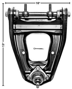 Picture of CONTROL ARM LH UPPER 62-67 : 1638B NOVA 62-67