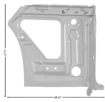 Picture for category Quarter/Door Frame Assemblies : Impala
