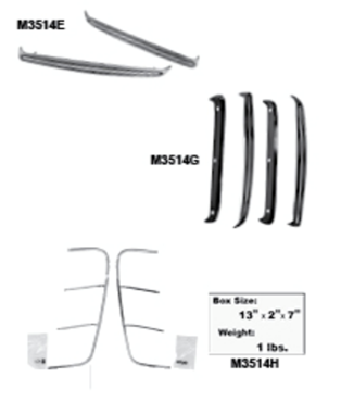 Picture for category Rocker Panel Molding : Mustang