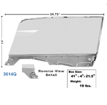 Picture for category Windshields & Seals : Mustang