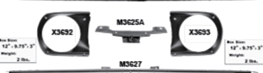 Picture for category Headlamp Doors & Bezels : Mustang