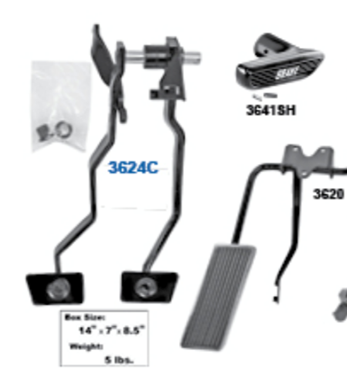 Picture for category Accelerator Pedal Assemblies : Mustang
