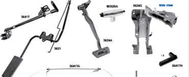 Picture for category Parking Brake Assemblies : Mustang