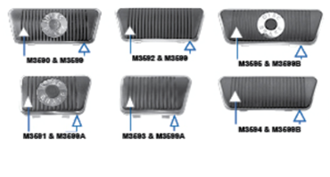 Picture for category Pedal Pads & Trim : Mustang