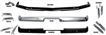 Picture for category Stone Deflectors, Bumper Fillers : Mustang